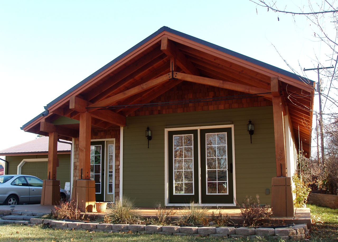 A modern craftsman home architecture design san for Modern craftsman